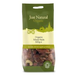 Organic Mixed Nuts - Green Food Direct