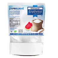 Puresweet Pure Erythritol, Zero Calorie Sugar Alternative, 1000 g or 100 g - Green Food Direct