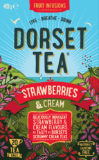 Strawberries and Cream Dorset Tea 20 Box (40g) - Green Food Direct