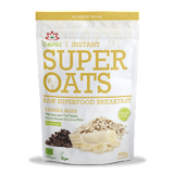 Super Oats - Banana Bliss, 100% Organic, 400g - Green Food Direct