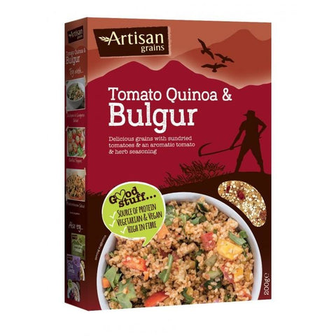 Quinoa & Bulgur 200g - Green Food Direct