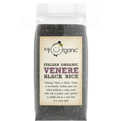 Italian Organic Venere Black Rice 500g - Green Food Direct