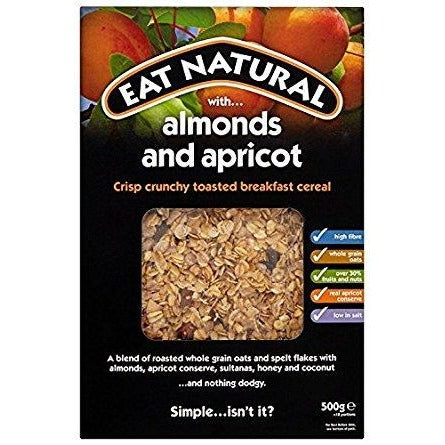 Crunchy Breakfast with Almonds and Apricots 500g - Green Food Direct