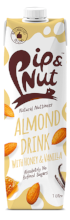 Almond milk with honey and vanilla 1000ml - Green Food Direct