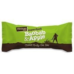 Artisan Snack Baobab & Apple Superfood Bar 45 g - Green Food Direct