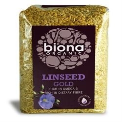 Organic Golden Linseed 500g - Green Food Direct
