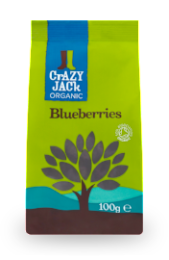 Organic Blueberries 100g - Green Food Direct