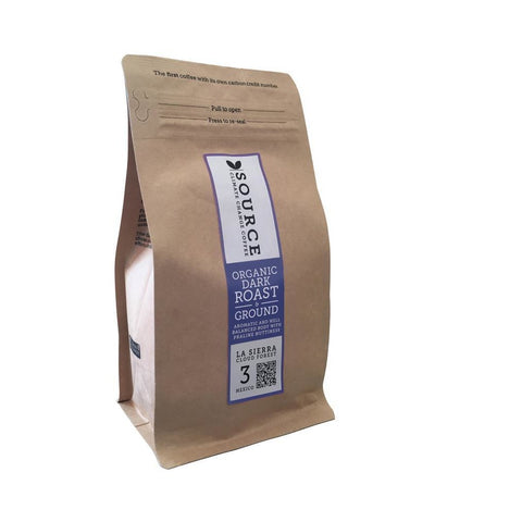 Smooth Medium Roast Coffee with Hints of Praline Nuttiness, 200g - Green Food Direct