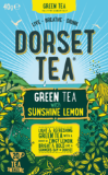 Green Tea and Sunshine Lemon Dorset Tea 20 Box (40g) - Green Food Direct