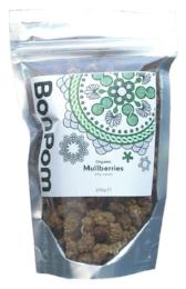 Raw Organic Mulberry Crumble 200g - Green Food Direct