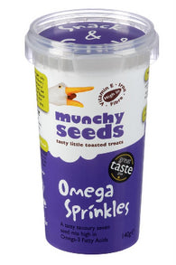 Omega Sprinkles 140g - Green Food Direct