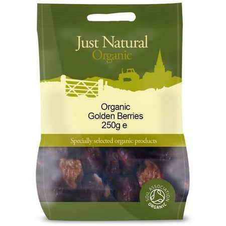Organic Golden Berries 250 g - Green Food Direct