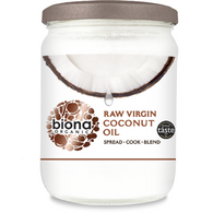 Organic Raw Virgin Coconut Oil 400g - Green Food Direct