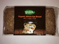 Organic Whole Rye Bread with Pumpkin Seed 500g - Green Food Direct