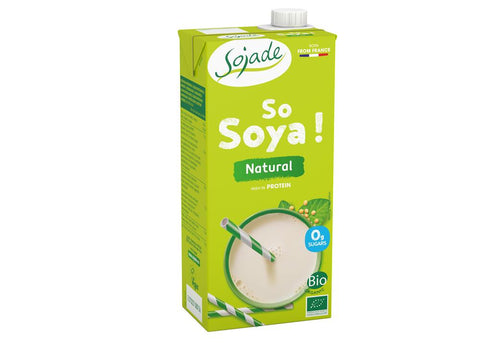 Soya organic natural unsweetened drink 1 litr - Green Food Direct