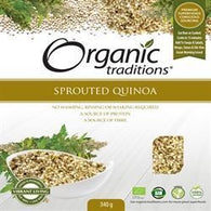 Sprouted Quinoa 340g - Green Food Direct