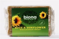 Organic Rice & Sunflower Seed Bread 500g - Green Food Direct