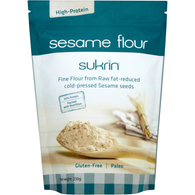 sesame flour, high proteins, low Glycemic Index, Sucrin sesam flour
