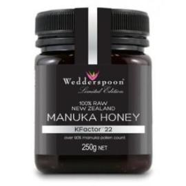 Manuka Honey Raw Organic KFactor 22 - Green Food Direct