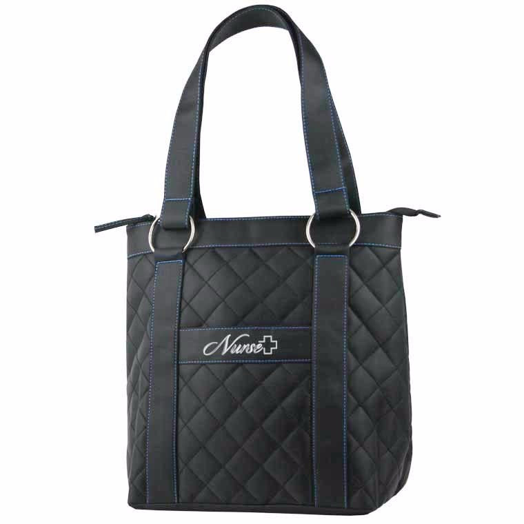 Nurse Bag Deluxe Plush Quilted Nursing Tote - Great Gifts For Nurses
