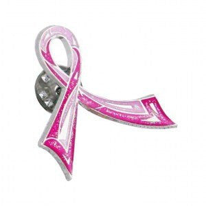 PROCURE PINK BREAST CANCER AWARENESS RIBBON PIN