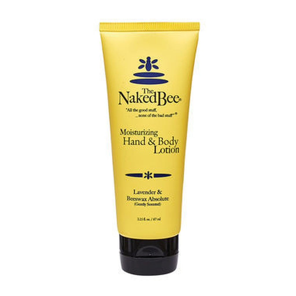 LAVENDER & BEESWAX Absolute Organic Lotion - The Naked Bee