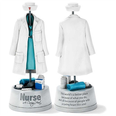 Caring Heart Nurse Tabletop Figure