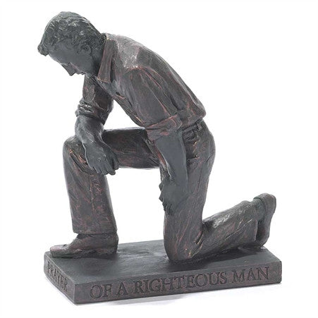 Man Called to Pray Christian Figurine