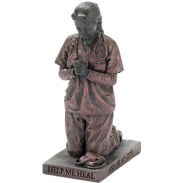 Nurse Called To Pray Christian Figurine
