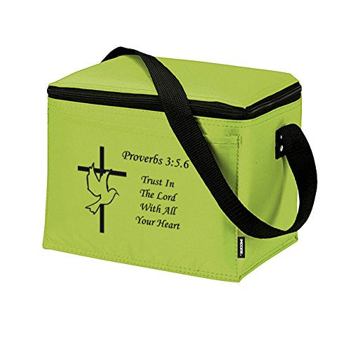 Proverbs 3:5 Trust In The Lord Insulated Lunch Bag