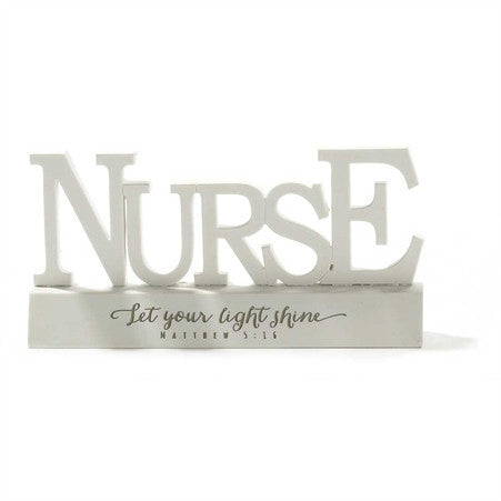 Let Your Light Shine Nurse Sign