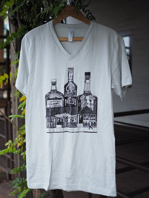 Whiskey Bottles T-Shirt