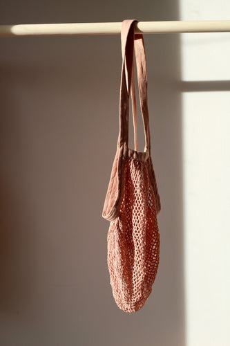 String Net Bag -DUSK PINK