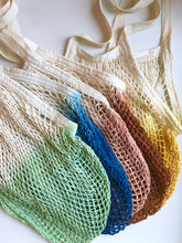 Sea Glass Net Market Bag