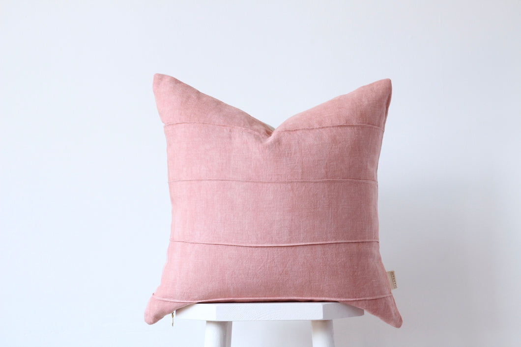 TIDES Cushion Cover - ROSE QUARTZ