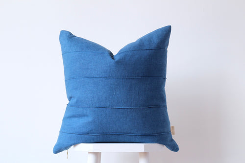 TIDES Cushion Cover - INDIGO