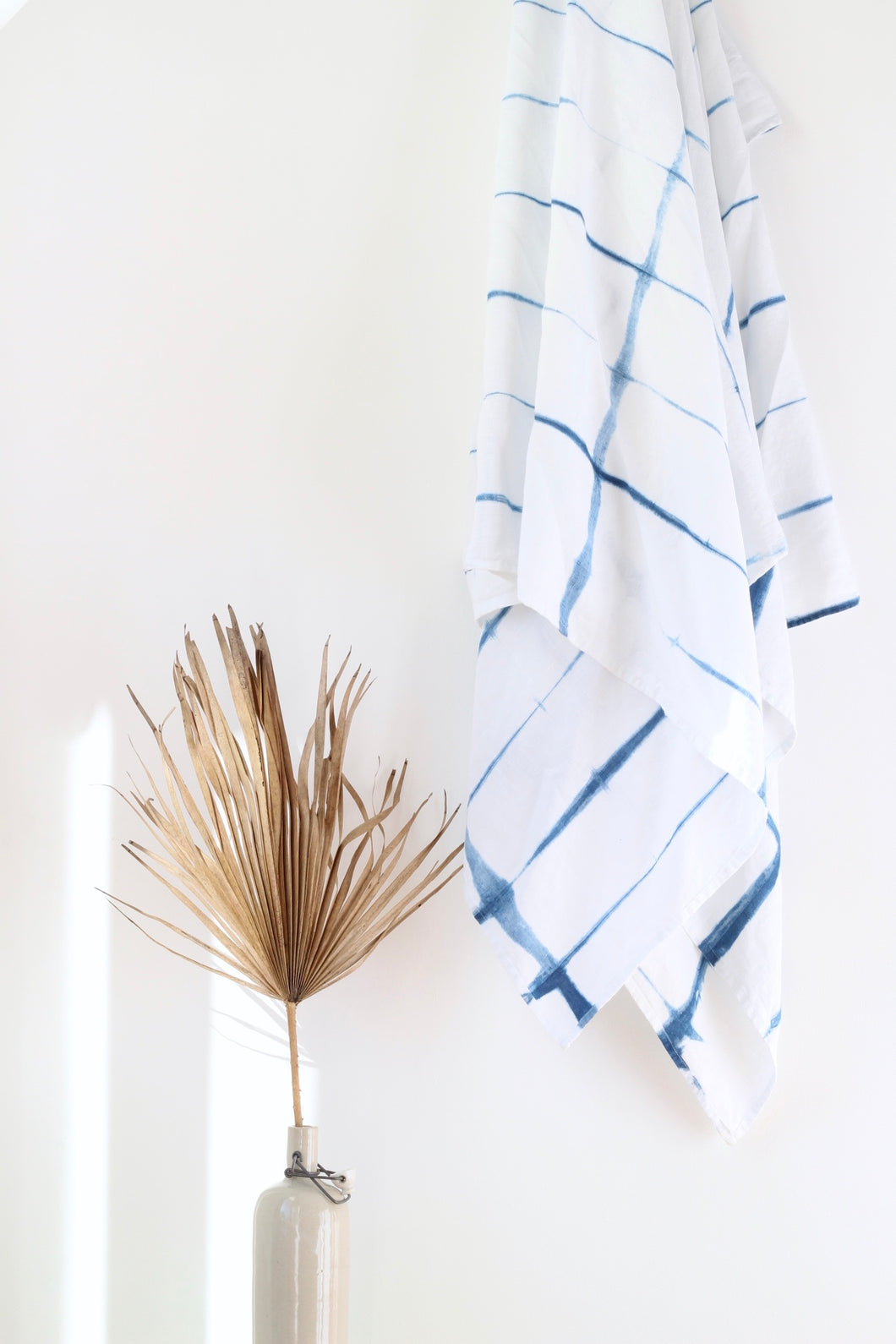 Shibori Indigo Throw - RECTANGLE