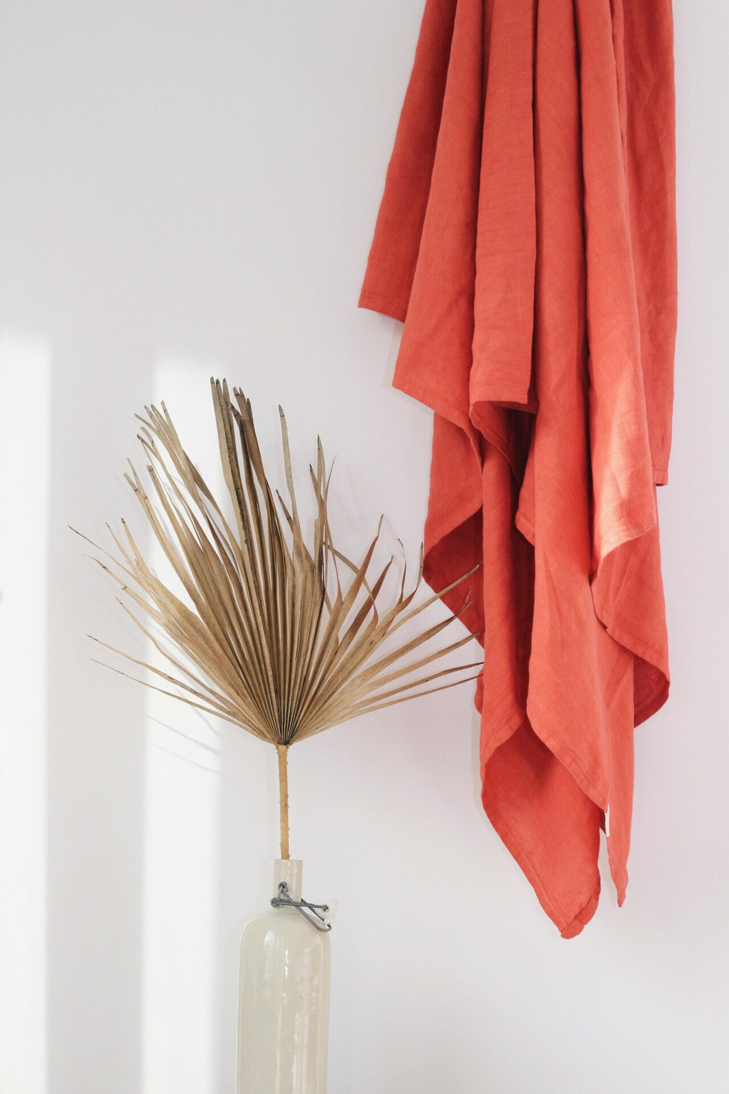 RUST Linen Throw