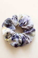 Bundle dyed violet scrunchie