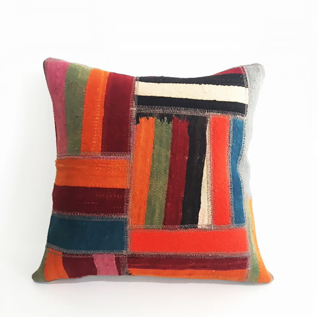 Vintage Kilim Cushion Cover 16""