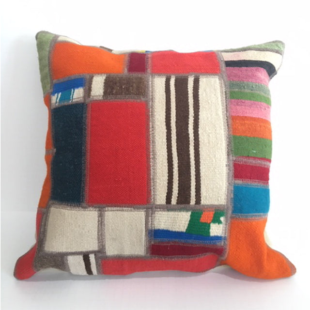 Vintage Kilim Cushion Cover 18""