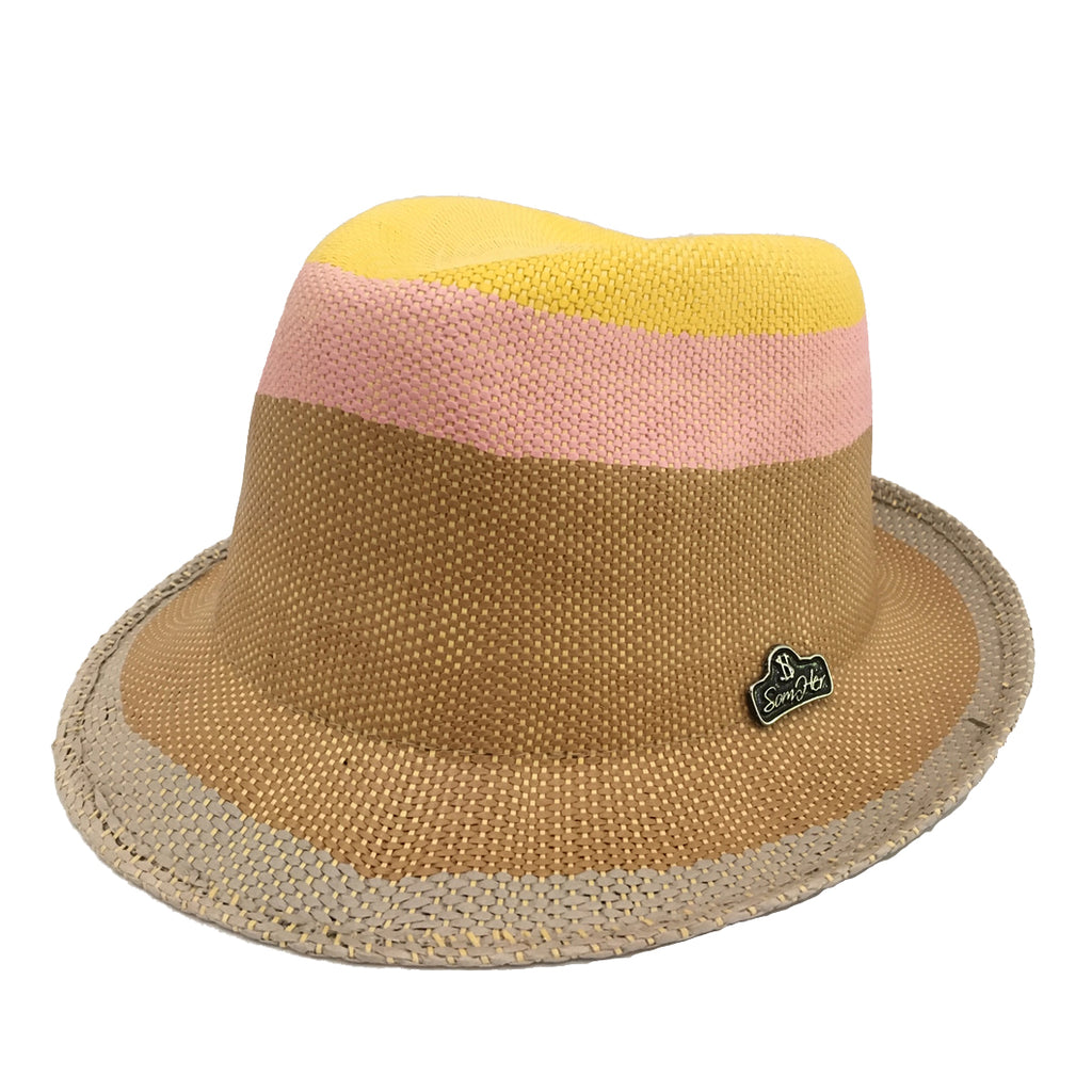 Som Her Hat Pink and Yellow