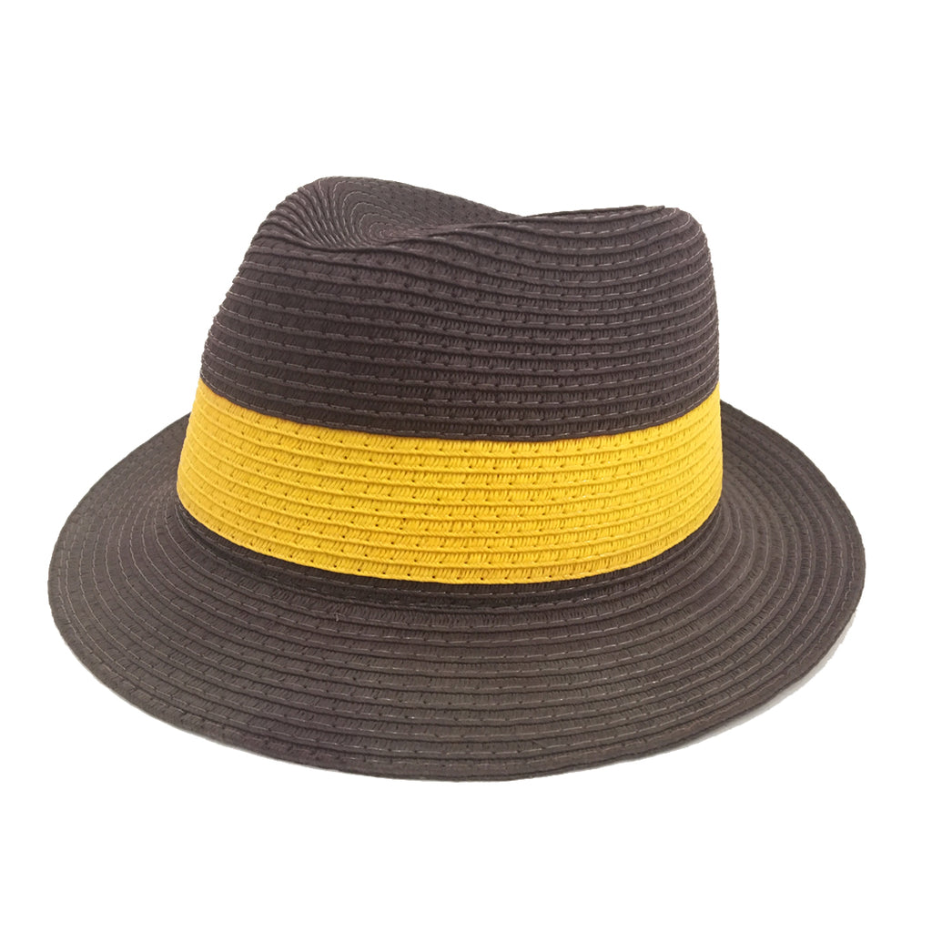 Som Her Hat Brown and Yellow