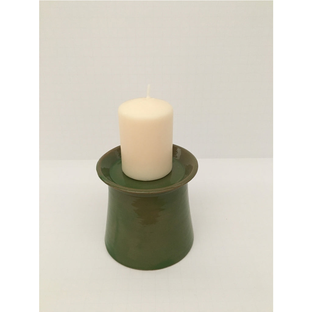 artisanal ceramic candle holders, from Emery & Cie