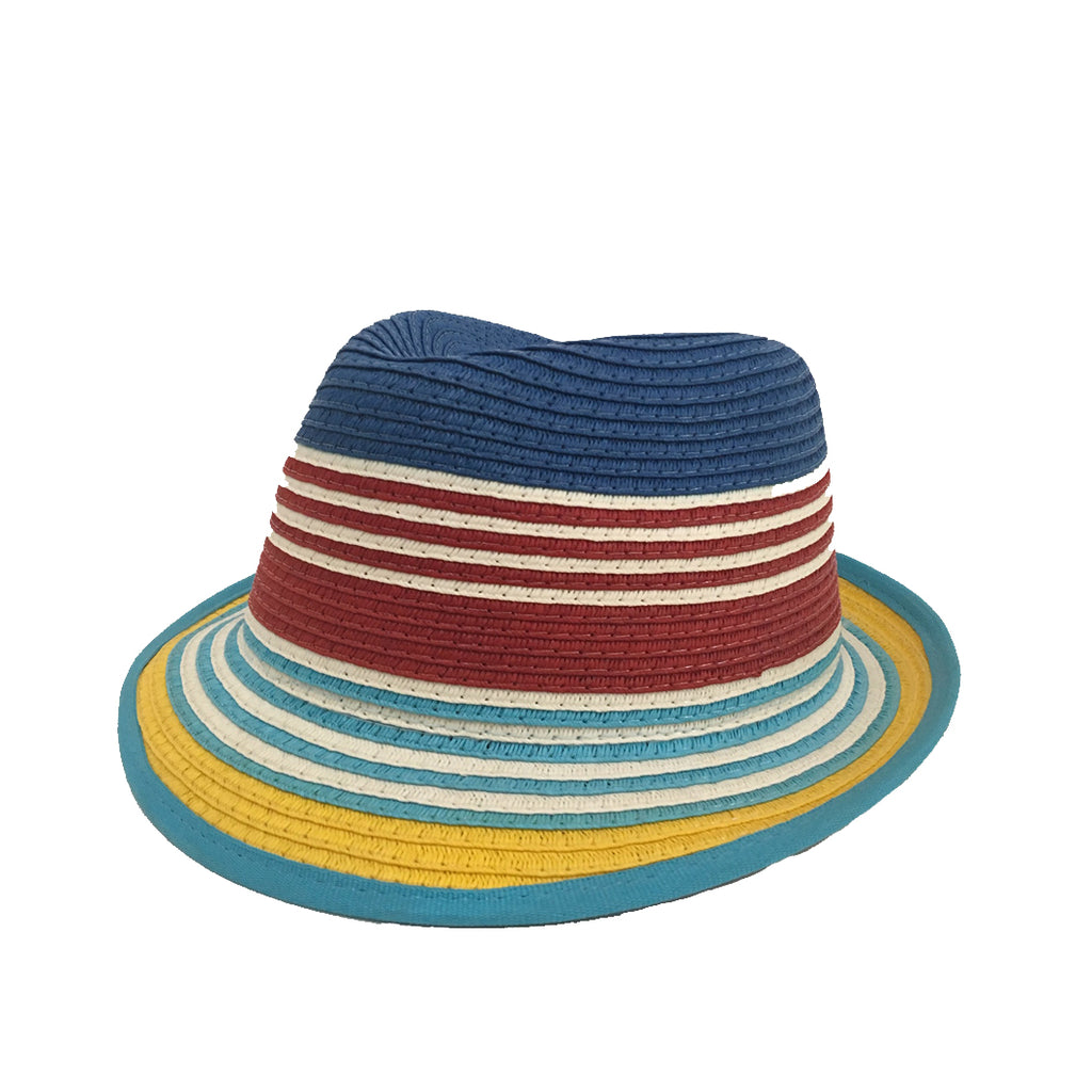 Som Her Hat Blue, Red and Yellow