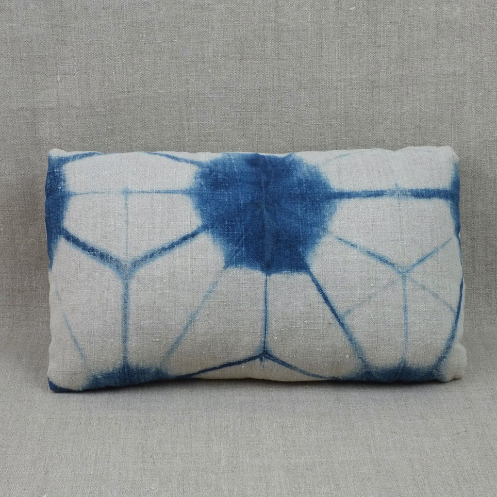 Itajime Shibori Small Cushion Cover 4