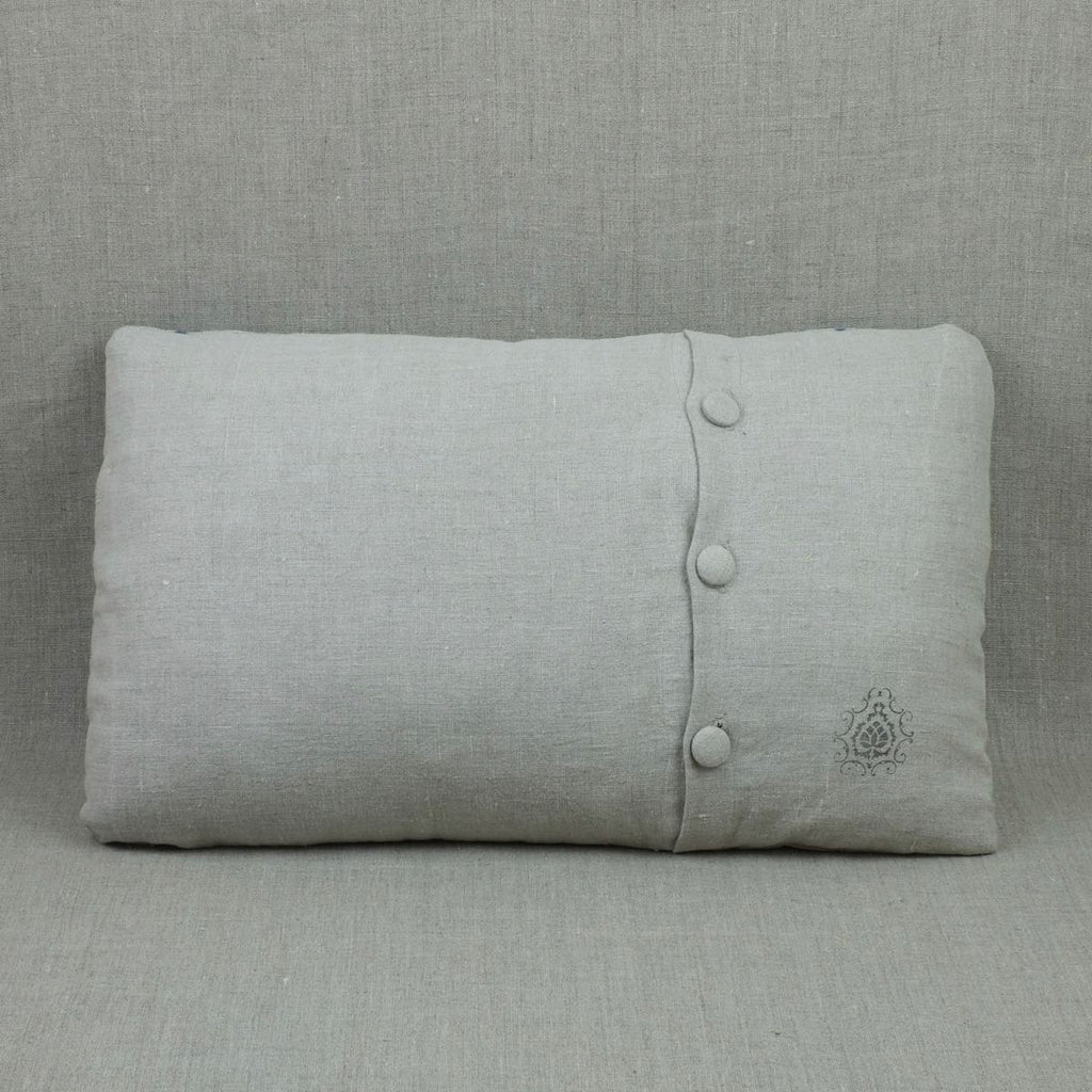 Itajime Shibori Large Cushion Cover 2