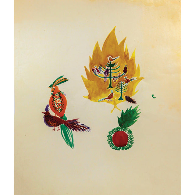 Parrot Fire & Pineapple Print by Ginette Bernas Wales