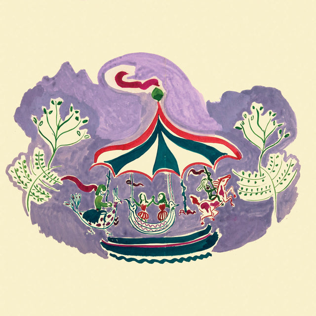 Carousel Print by Ginette Bernas Wales