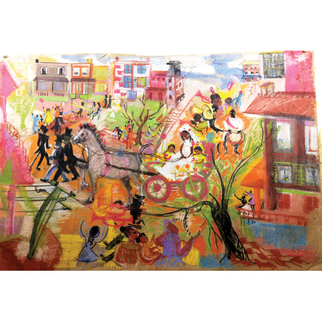 Carnival Print by Ginette Bernas Wales